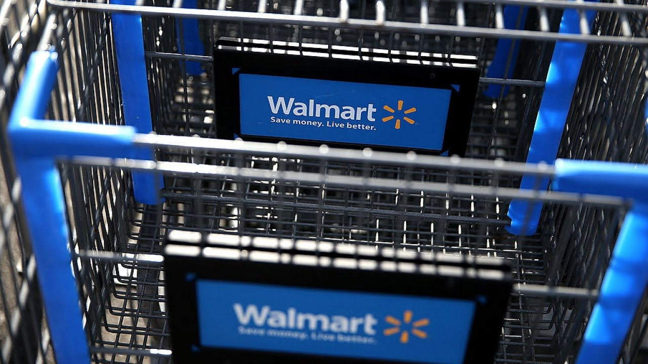 Wal-Mart's Robot Cart Could Help Do Your Shopping For You - YouTube