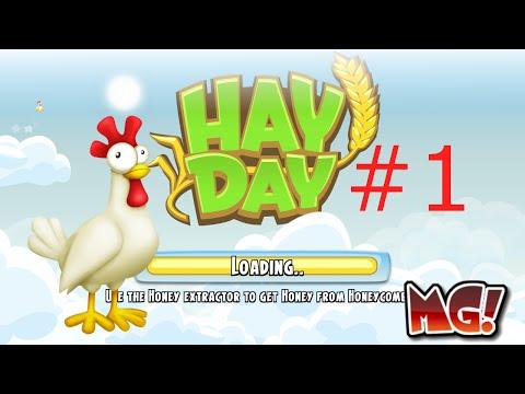 Hay Day | Прохождение #Часть - 1 | Началоо!!