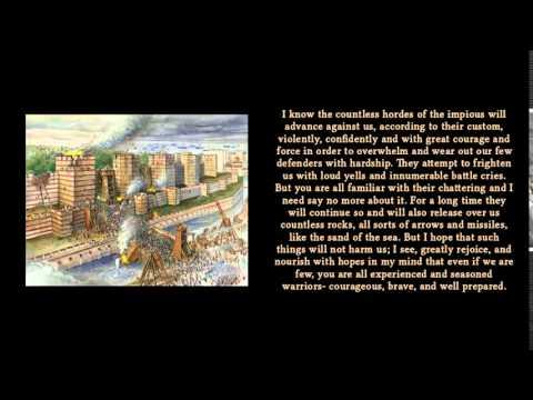 Constantine XI Palaiologos' last speech - 1453