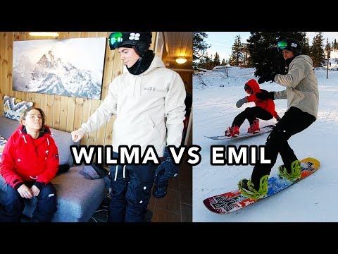 TÄVLINGAR I BACKEN | WILMA VS EMIL