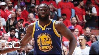 Draymond Green's 'audible' on Kawhi Leonard saved Warriors in Game 5 - Michael Wilbon | SportsCenter
