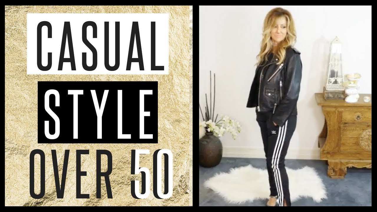 Over 50 Style Tips Casual Sporty Style Youtube