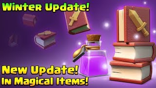 Clash Of Clans December Update : Big Balancing Change In Magical Items! | Winter 2018 Update