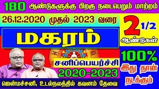 மகரம் சனி பெயர்ச்சி பலன்கள் 2020 to 2023   Magaram Rasi Sani Peyarchi 2020 to 2023   2020-2023
