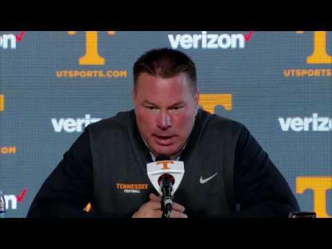 Vol Football | Butch Jones Press Conference (3/20/17)