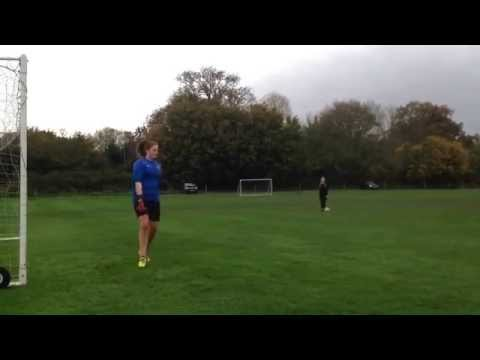 Training with Nick Hutchings 30 Oct 2015 Charlotte Johnson GK