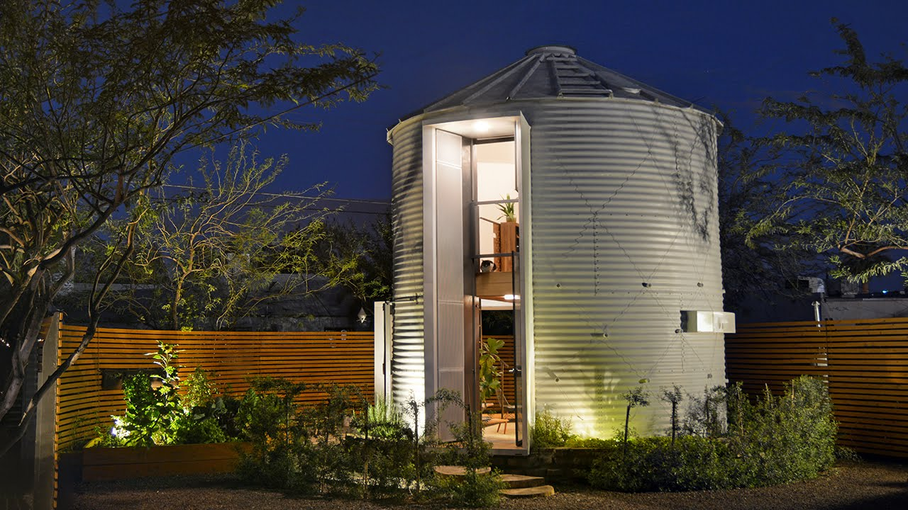 Design Silo House newlywed life in a tiny grain silo home youtube