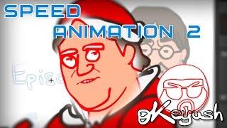 CS:GO de dibujos animados de la Velocidad de la Animación 2: Santa-GabeN