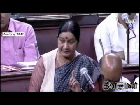 No proof that Indians abducted in Iraq are dead: Sushma Swaraj