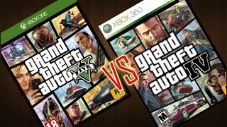 GTA 5 Vs GTA 4 : Comparación Final ¿cuál comprar? (Swarlok)