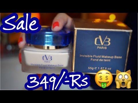 CVB Invisible Fluid Makeup Base Review & Demo in Urdu/Hindi || Nishoo Khan
