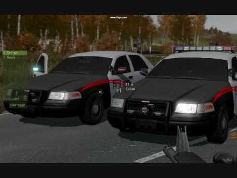 Arma Police Car Addon