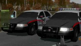 Arma Police Addon Ford Crown Victoria Interceptors With All The Details