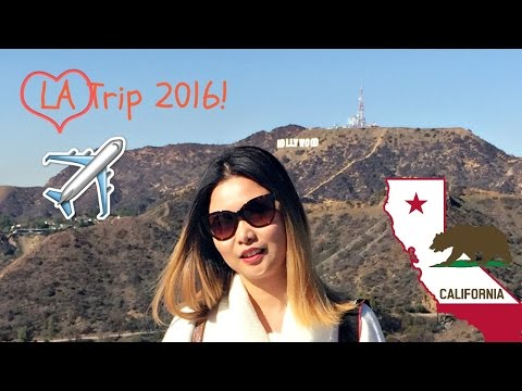LA Trip 2016| Beverly Hills |Hollywood Sign|