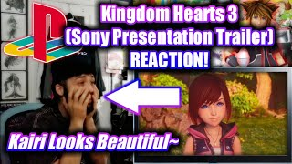 Kingdom Hearts 3 Pirates of the Caribbean Trailer - Sony Conference Reaction!
