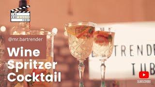 The Social Spritzer | Wine Spritzer | The BarTrender Tube