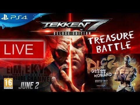TEKKEN 7SEVEN (Treasure Battle) Geese Howard_DLC2- LIVE - PS4 |MALAYSIA 1/12/2017