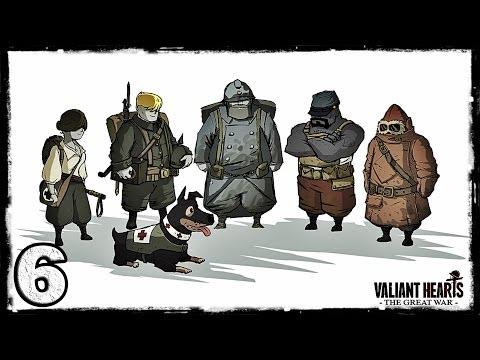 Смотреть прохождение игры [PS4] Valiant Hearts: The Great War. #6: В плену.