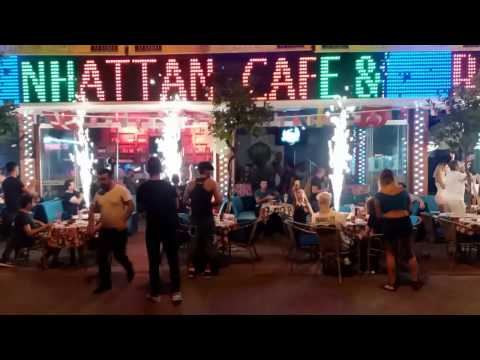 ALANYA BARS STREET NIGHTLIFE