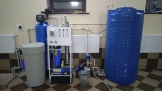 видео Очистка воды на основе обратного осмоса