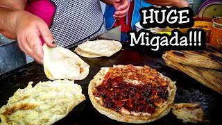 ULTIMATE Mexican Street Food - HUGE Migada - DEEP In The Streets of Mexico