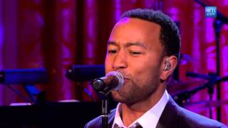 "John Legend performs ""I Heard It Through the Grapevine"" 