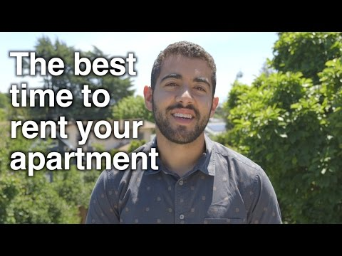 Berkeley Rental Housing Cycles - The Best Time to Rent Your Apartment