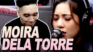 """Moira Dela Torre sings """"You Are My Sunshine"""" LIVE on Wish 107.5 Bus REACTION!!!"""