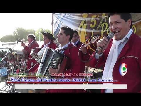 5ta FIESTA DEL PUEBLO ISLEÑO EN LAS CUEVAS DIAMANTE ENTRE RIOS Febrero 2020  Parte 5 Susana Solis Pt