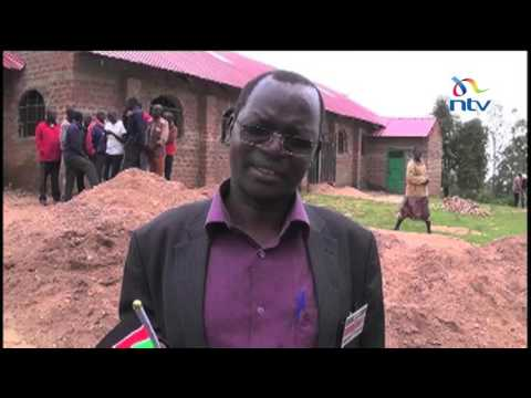 IEBC officials receive voting materials for West Pokot County