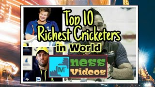 Top 10 Richest Cricketers in World 2018 | Tribute to Dhoni | Cricket Videos