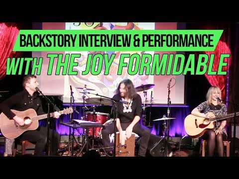 BackStory Presents: The Joy Formidable live from The Cutting Room NYC