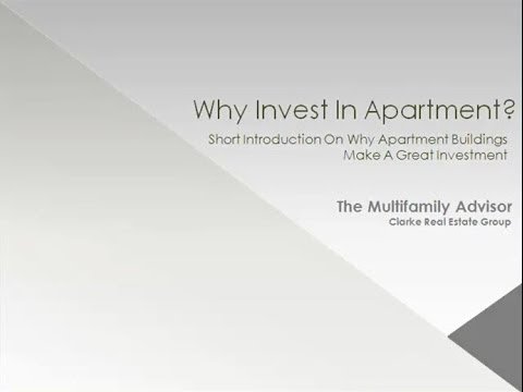 Why Invest in Apartment Buildings