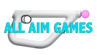 All Aim Controller Games: Available & Coming Soon | New PS4 Gun Worth It? #psvr