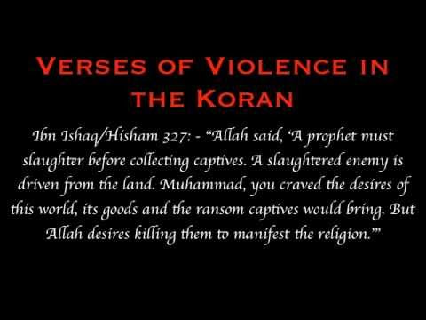 Violent Satanic Verses Of The Quran Muhammad Allah Islam Exposed Not God Bible