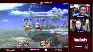 Tipped Off 10 - Winners R2 - Ninkendo64 (Mario) vs. Mr. Pickle (Wario) - Project M
