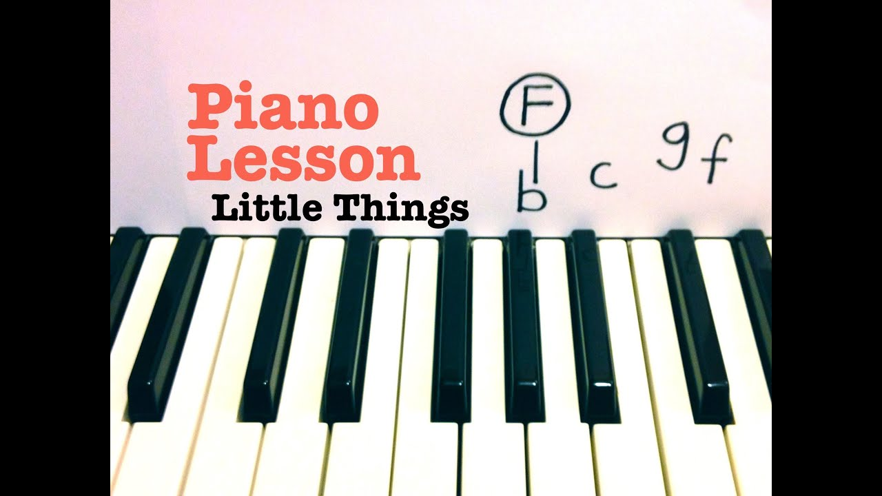Little things piano lesson easy one direction todd downing little things piano lesson easy one direction todd downing hexwebz Images