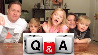 PICKING OUT KID NAMES | Q&A | DYCHES FAM
