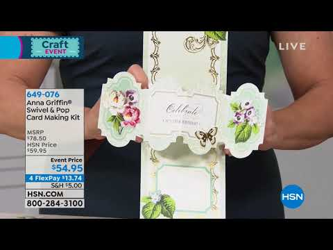 HSN | Anna Griffin Elegant Paper Crafting Anniversary 01.08.2019 - 02 PM