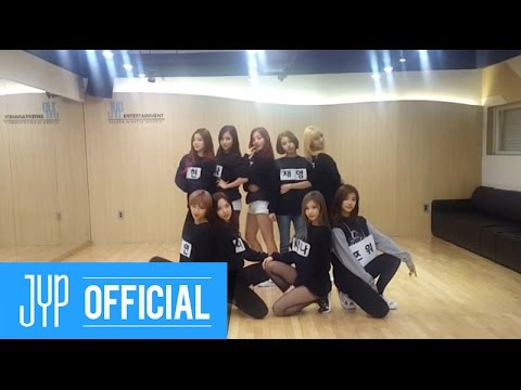 TWICE트와이스 OOH-AHH하게Like OOH-AHH Dance Practice NAME TAG Ver.