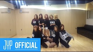 TWICE 트와이스 OOH AHH하게 Like OOH AHH Dance Practice NAME TAG Ver