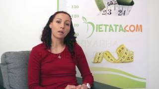 Как Ива отслабна с 48 килограма(Историята на Ива, която отслабна с 48 килограма благодарение на индивидуална 90 дневна диета - http://profil.dietata.com/...., 2015-06-08T08:38:03.000Z)