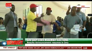 FULL VIDEO: Two Electoral Officers Arrested In Imo Collation Centre