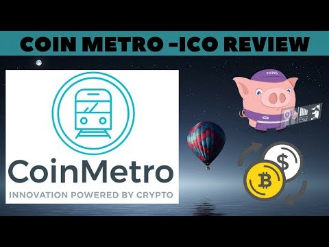 COINMETRO ICO REVIEW - DECENTRALIZED EXCHANGE WITH CRYPTO ETF AND FUND MANAGEMENT