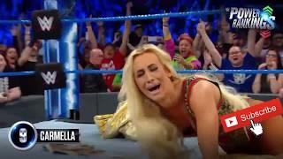 Rousey WWE Power Rankings, 2018