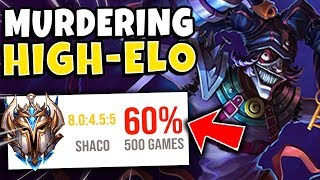 #1 SHACO WORLD DESTROYS CHALLENGER (CHASE IS BACK) - League of Legends