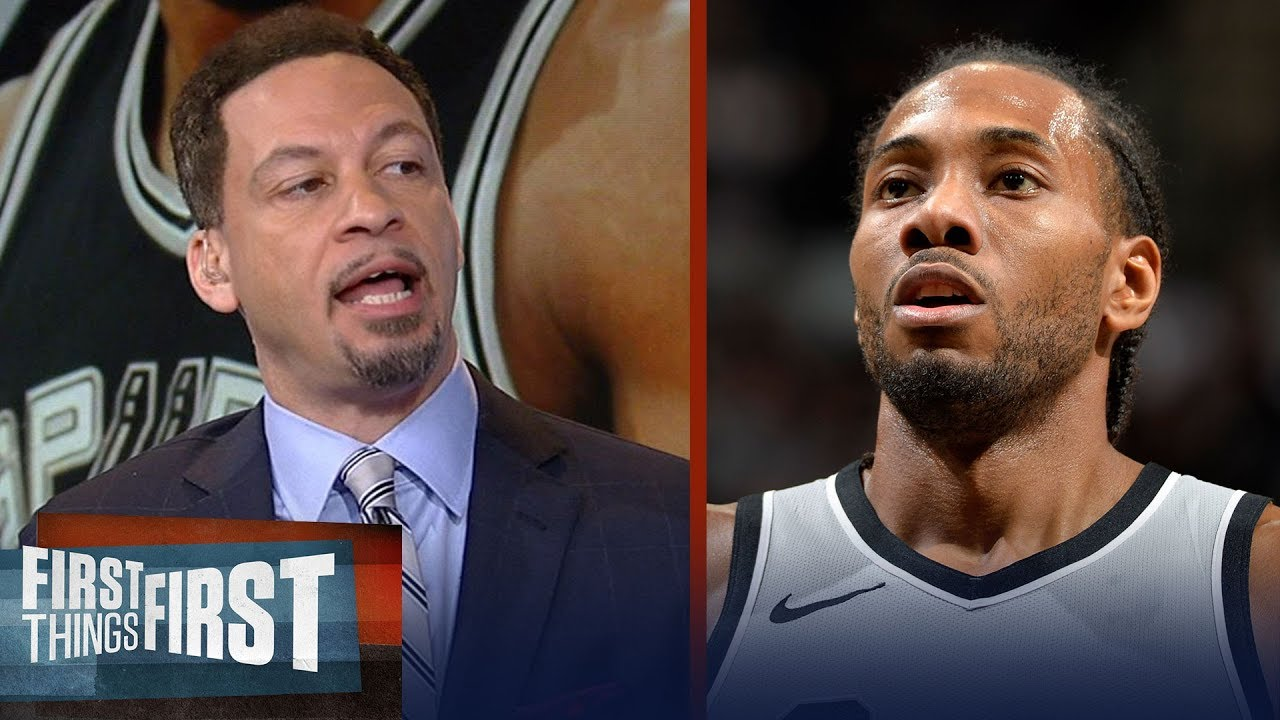 Chris Broussard on Spurs not wanting to deal Kawhi Leonard to Lakers   NBA   FIRST THINGS FIRST
