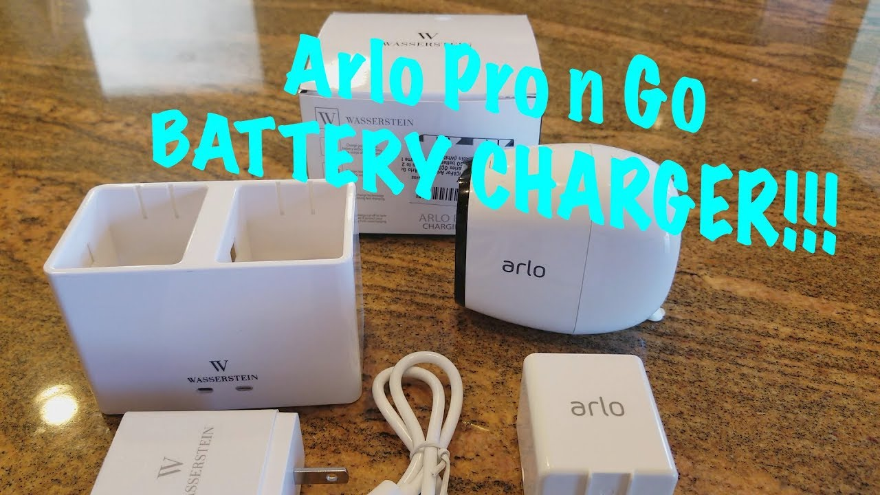 FOR Arlo  Dual LCD Charger Fast Charging Station for Arlo Pro Arlo Pro 2 Arlo GO