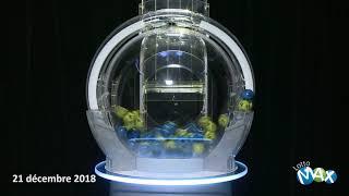 Lotto Max - Tirage du 21 décembre 2018