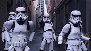 CAN'T STOP THE FEELING! - Justin Timberlake (Stormtroopers Dance Moves \u0026 More) PT 1